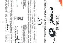 APSAD-EXTINCTEURS-SIX FOURS-INSTALLATION ET MAINTENANCE-VALABLE JUSQU'AU 30.12.2021
